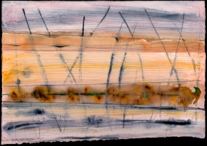 Stitched Series. High Grasses. 15